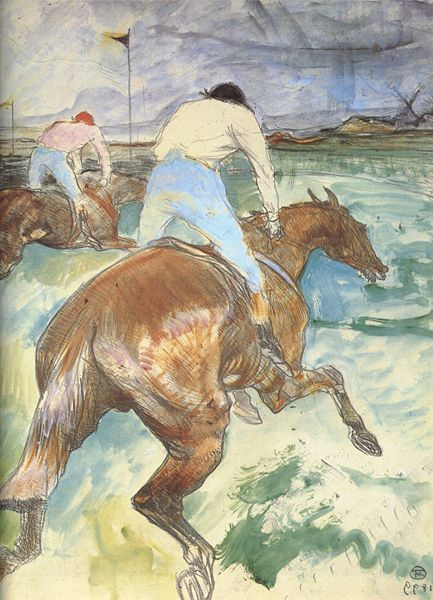 Henri de Toulouse-Lautrec, The Jockey, 1899