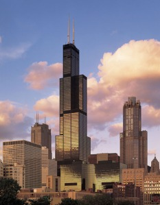 Sears Tower, Chicago, tallest building in the USA