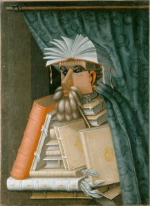 The Librarian, Giuseppe Arcimboldo, ca 1570