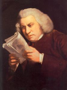 Samuel Johnson by Joshua Reynolds, 1775