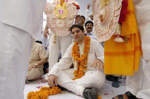 Varun Gandhi in Pilibhit