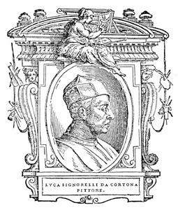 Signorelli, etching from the Lives