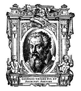 Vasari, etching from the Lives