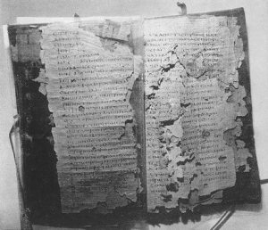 Early Christian codex discovered in Egypt, 1945