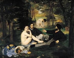 Édouard Manet, Le déjeuner sur l'herbe, 1862-63