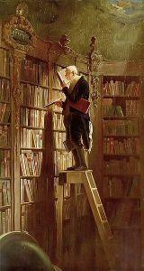 """""""The Bookworm"""", Carl Spitzweg, 1850"""