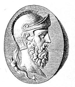 Themistokles, illustration from 1888
