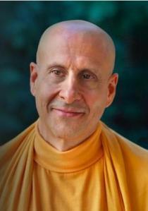 Richard Slavin, then Monk, now Radhanath Swami
