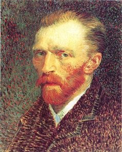 Vincent van Gogh, self-portrait, 1887